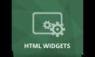 پلاگین HTML Widgets