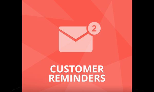 پلاگین Customer Reminders
