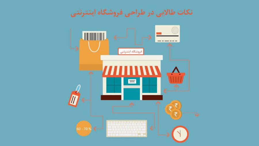9 نکته مهم در طراحی فروشگاه اینترنتی