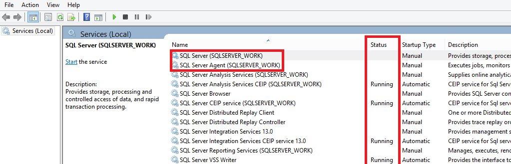 اجرای SQL